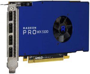 carte graphique gamer AMD Radeon Pro WX 5100
