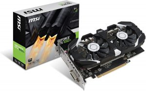 carte graphique gamer MSI Carte Graphique MSI nVidia GeForce GTX 1050Ti OC 4Go DDR5